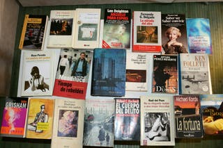 Conjunto de libros , bestseller , novelas