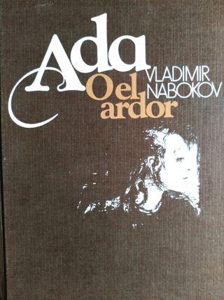 Libro ada o el ardor. Vladimir nabokov.