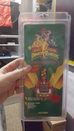 Reloj Power ranger
