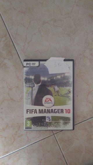 Fifa manager 10 para pc