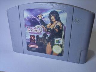 XENA WARRIOR PRINCESS N64 NINTENDO 64