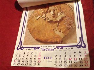 Calendario Antiguo De Pared