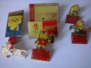 Pins olimpiadas Cobi 1992