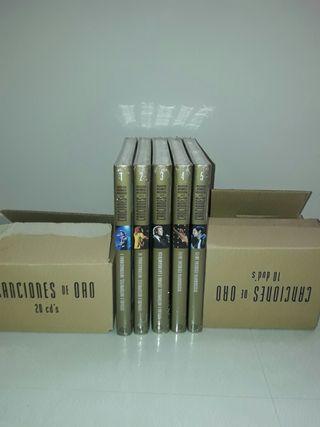 Coleccion Planeta Canciones de Oro. 20 CDs y 10 DVD's