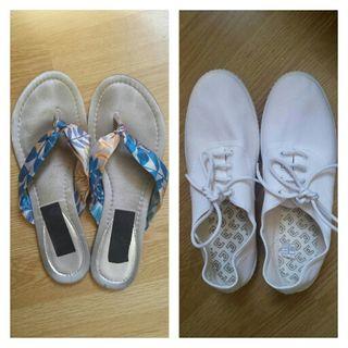 Dedo39De Segunda Blancas Zapatillas Y Por 5 Pack Sandalias Mano 4ARjLqc35