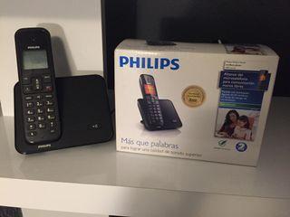 Teléfono inalámbrico Philips sin uso