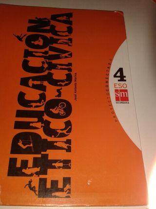 Libro Educación Etico Civica 4Eso
