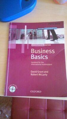 Libro de Inglés. Business basics