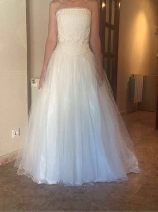 Traje de novia (talla 42)