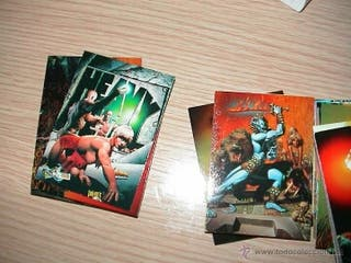 Richard Corben trading cards