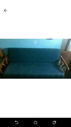 Conjunto Sofá cama y sillones