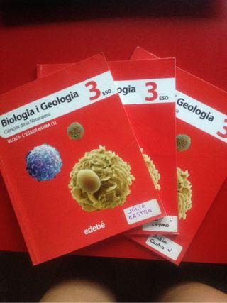 Llibres de biologia i geologia 3rESO