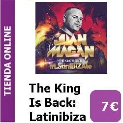 Disco CD Magan The King Is Back Latinibizate