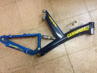 Cuadro Cannondale Raven carbono
