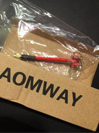 Antena aomway dron fpv quadcopter frame