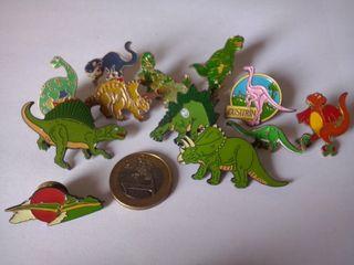 12 Pins dinosaurios