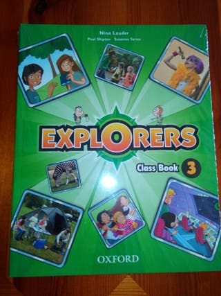 Explorers class book 3. Nuevo