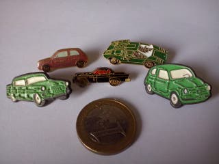 5 Pins coches