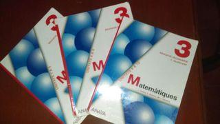 Llibre 3r ESO Matemàtiques