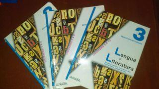 Libro 3° ESO lengua y literatura castellana