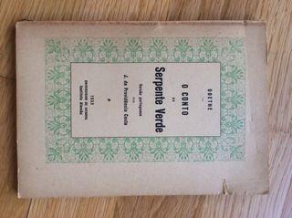 Ejemplar Libro GOETHE 1932