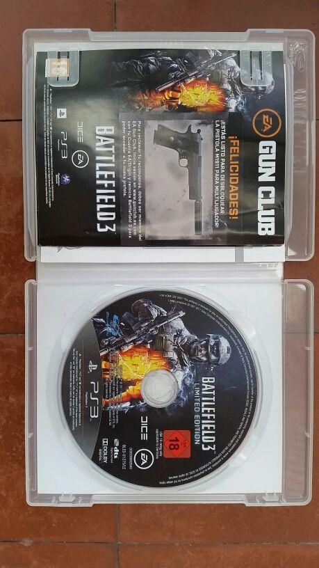 PS3 Battlefield 3 limited edición    de segunda mano por 9