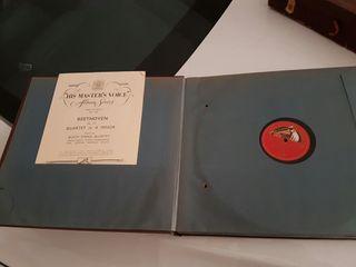 Carpeta de discos de pizarra con 6 discos