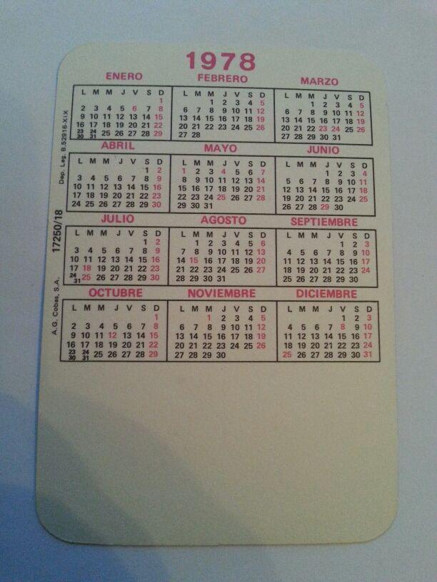 Calendario Enero 1978.Calendario 1978 Chica Del Atletic De Bilbao De Segunda Mano