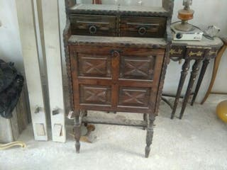 Mueble antiguos de segunda mano en wallapop - Muebles viejos segunda mano ...