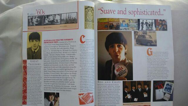 Libro Paul McCartney Tour 1989 inglés