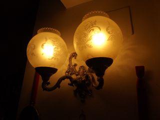 Lámparas pared