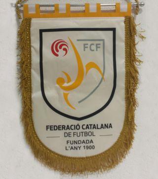 Banderín Federación Catalana de Fútbol