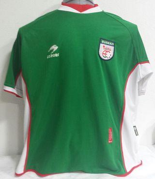 Camiseta selección Euskadi 2001-2002