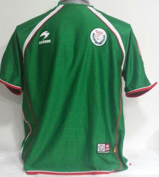 Camiseta oficial Euskadi. 2003-04.