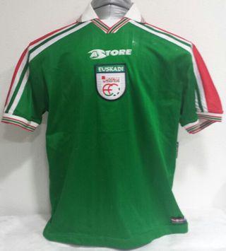 Camiseta oficial Euskadi 1997-2000
