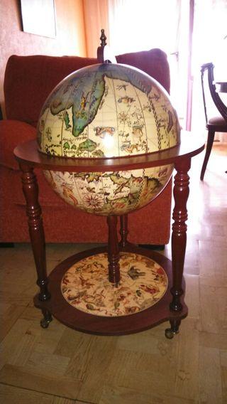 Minibar Bola de mundo