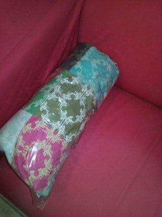 Funda patchwork sofá klippan IKEA