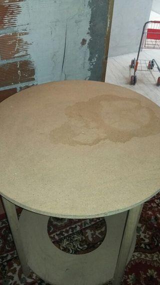 Mesa camilla de 70cm de diametro