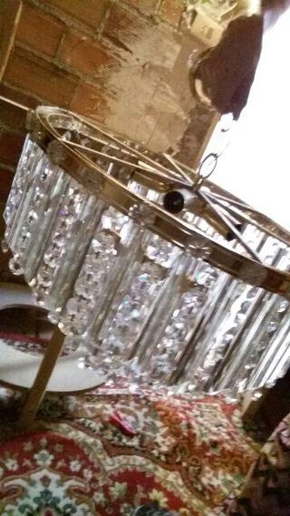 Lámpara de cristal para salon
