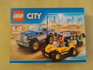LEGO 60082 City. 4x4 y remolque de Buggy