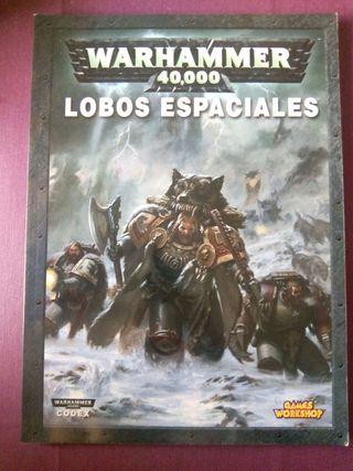 Codex lobos espaciales warhammer