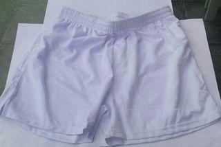 Pantalón fútbol blanco