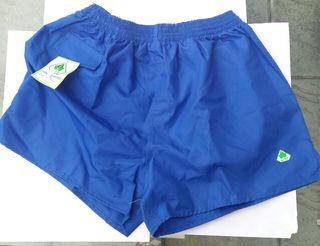 Pantalón fútbol azul