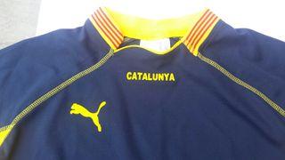 Camiseta fútbol Catalunya