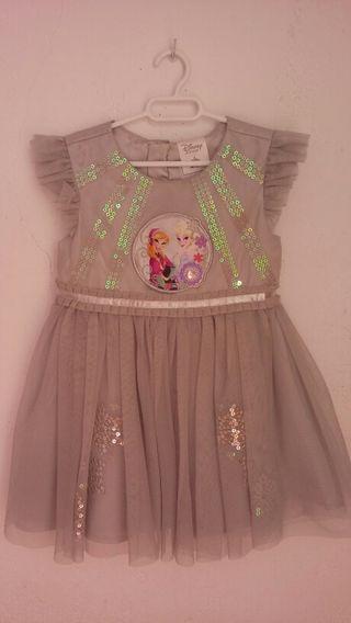 Vestido frozen Disney