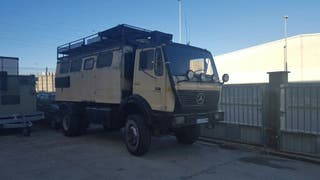 camion mercedes 4x4 autocaravana