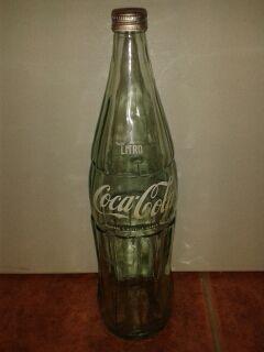 Botella Coca Cola 1 Litro Cristal De Segunda Mano Por 10 En Alginet En Wallapop