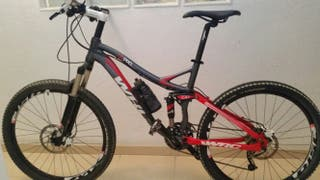 Bici wrc dspro conor 2012 doble suspension