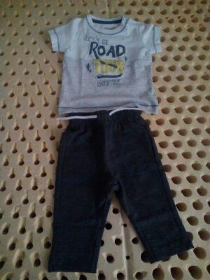 Pantalón y camiseta bebé