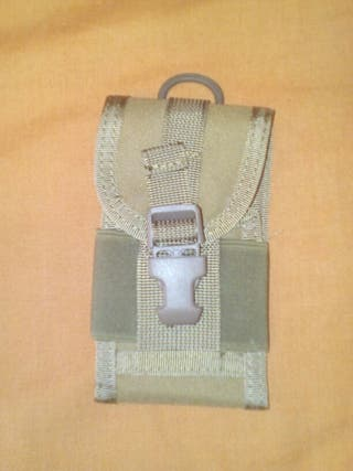 Pouch porta movil tan molle